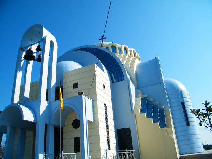 Blue Church in Egio