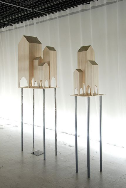 Exhibition of Jun Igarashi Architects by terururu, via Flickr