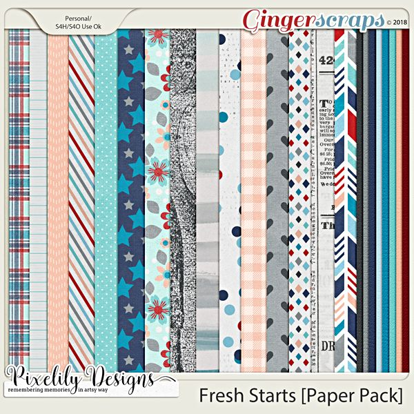 Fresh Starts [Paper Pack]