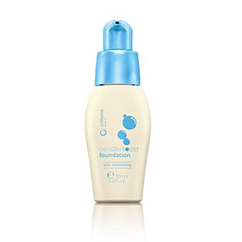 Oxygen foundation with an amazing refreshing sensation. With brown algae/algae extract to stimulate cellular oxygen consumption for a brighter, more radiant complexion. Revitalising microspheres and hydrating white beeswax help improve skin condition.