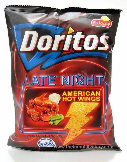 REVIEW: Frito-Lay Late Night American Hot Wings Doritos (Taiwan)