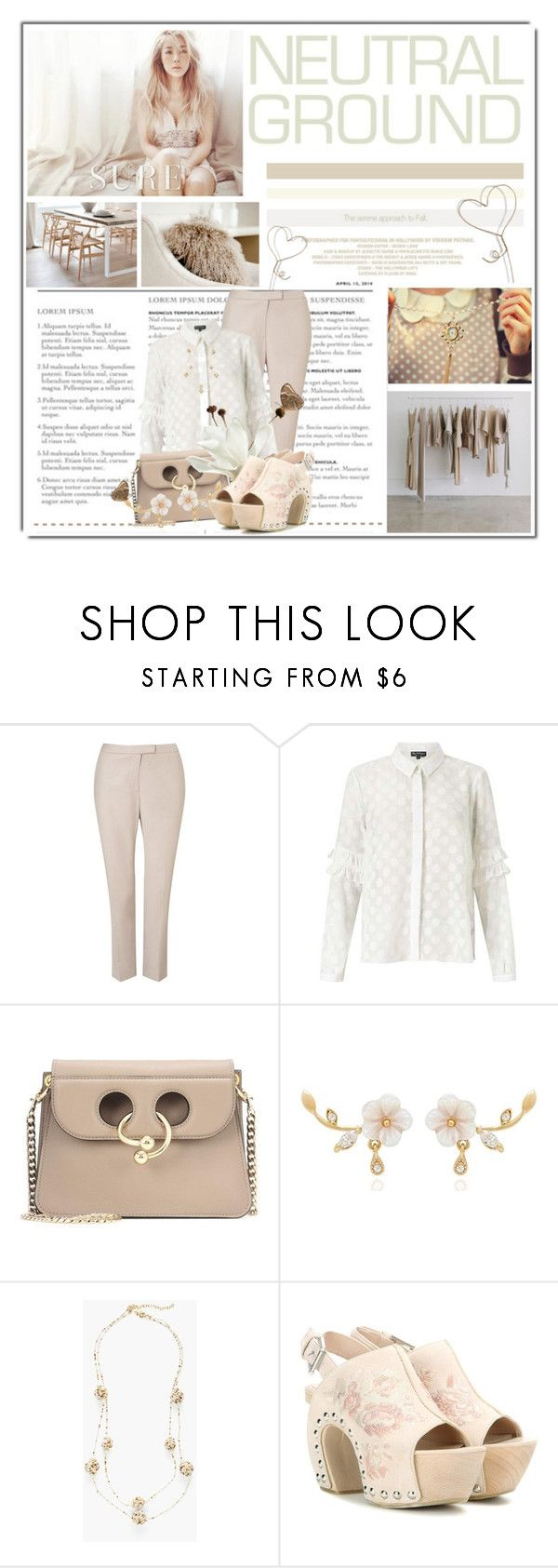 """""""Untitled #10960"""" by queenrachietemplateaddict ❤ liked on Polyvore featuring Shaina Mote, Precis Petite, Miss Selfridge, J.W. Anderson, Chico's and Alexander McQueen"""