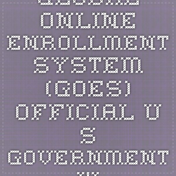 Global Online Enrollment System (GOES)-Official U.S. Government Web Site to apply for Global Entry, FLUX, NEXUS, SENTRI, FAST