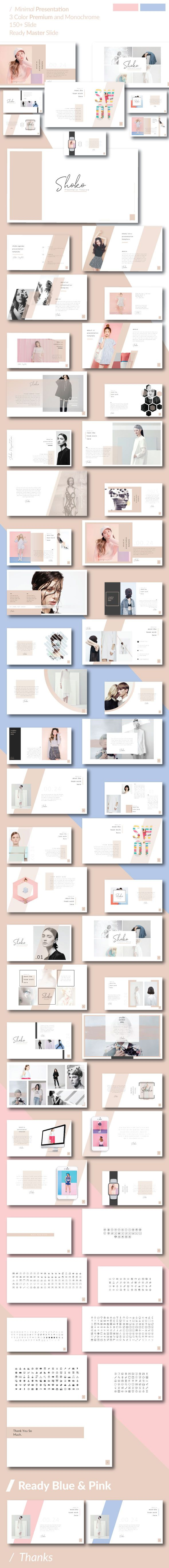 Shoko Minimal Powerpoint Template - Business PowerPoint Templates