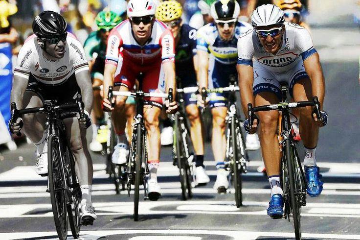 Marcel kittel soplandole la oreja a Cavendish