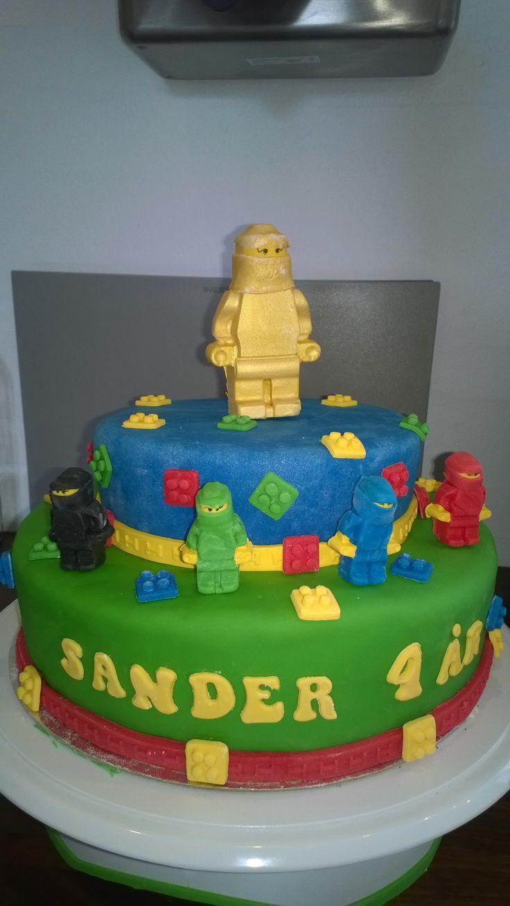 Lego ninjago kage til min søns 4 års fødselsdag ❤