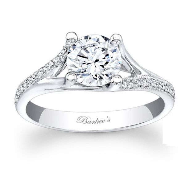 Barkev's Designer 1 1/8ct TDW Diamond Engagement Ring (F-G, SI1-SI2) - Overstock™ Shopping - Top Rated Engagement Rings