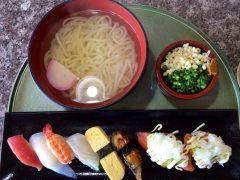 今日のお昼は神田川本店の釜あげうどん定食とサーモンアボカドエビアボカドのシャリコマでした いつもながらに私好みの味でした() tags[宮崎県]