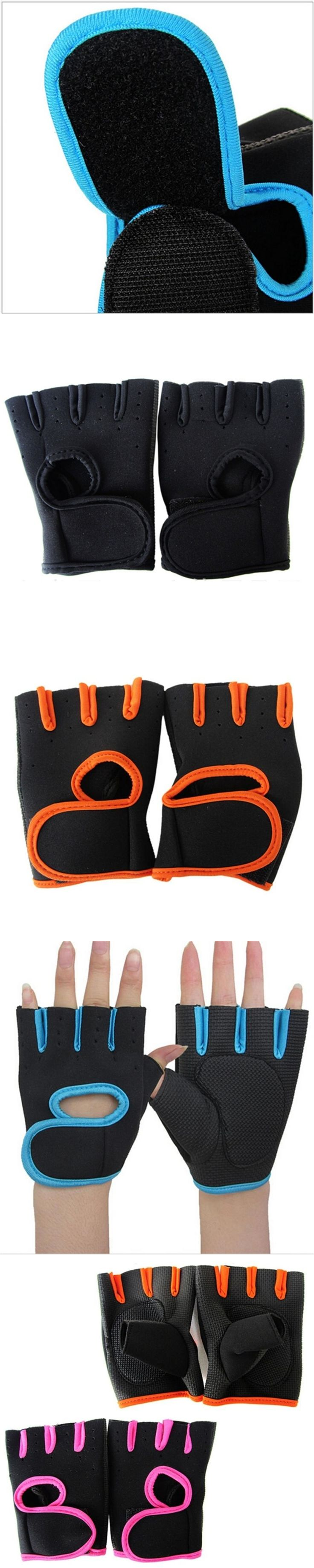 Men Women's Fitness Exercise Workout Weight Lifting Gloves