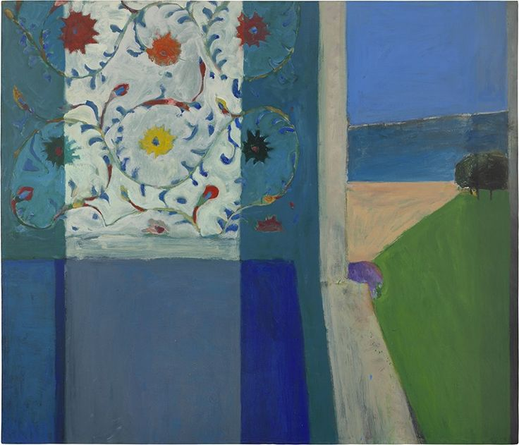 Richard Diebenkorn (American, Bay Area Figurative Movement, 1922–1993): Recollections of a Visit to Leningrad, 1965.