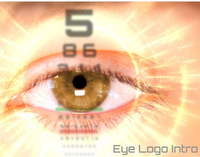 "Check out new work on my @Behance portfolio: ""Eye Logo Intro 