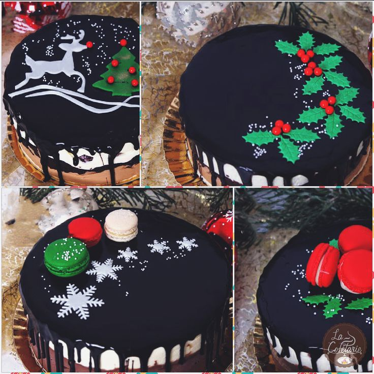 Christmas is approaching fast, friends! Have a nice holiday!! #yummy #christmas #cake #cakes #food #foodie