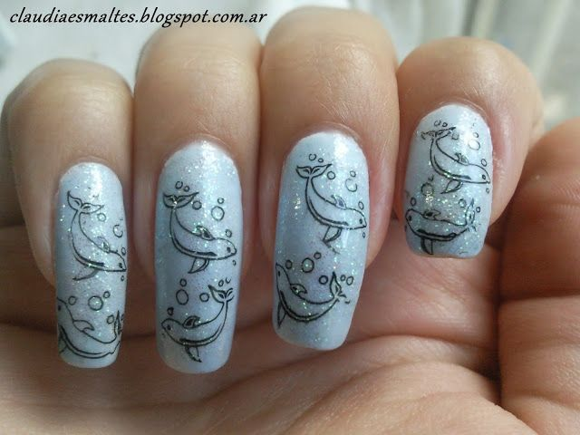 119 best delfin nail art design gallery by nded images on Pinterest ...