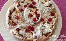 Булочки с персиками и красной смородиной | Кулинарные рецепты от «Едим дома!»