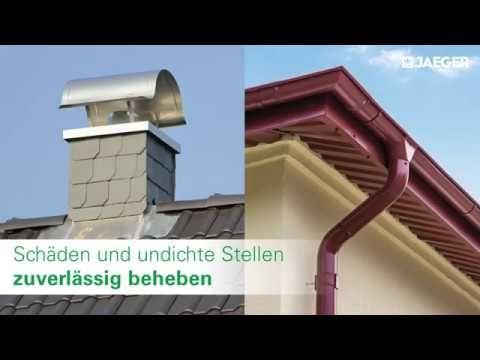 Dachsanierung mit Dachfarbe, Dachrinnenfarbe und