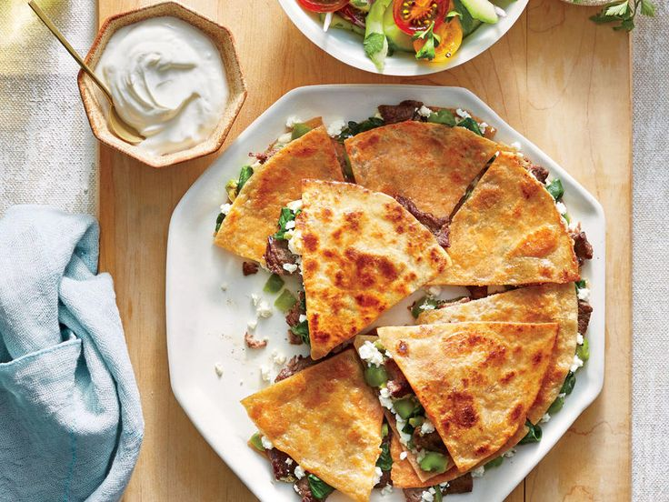 We first tried a Mexican-Italian quesadilla mash-up with pizzadillas—quesadillas with melty mozzarella and a marinara dipping sauce. Now ...