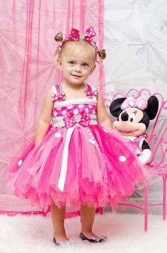Couture Minnie Mouse Tutu Dress