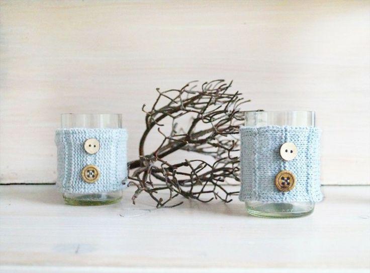 partavelas manualidades preciosas velas romanticas vasos vestidos ideas