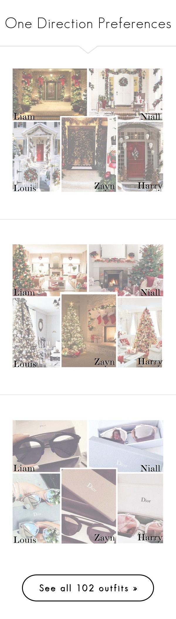 """One Direction Preferences"" by aamirisplond ❤ liked on Polyvore featuring Mode, women's clothing, women, female, woman, misses, juniors, Schönheit, interior und interiors"