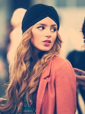 turban look: