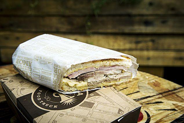 """Receita do sanduíche servido no filme """"Chef"""", que será vendido a partir desta quinta (14) no Buzina Food Truck (facebook.com/buzinafoodtruck) por R$ 16"""