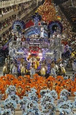 Danced in the 2011, Rio Carnival Parade. Rio De Janeiro.