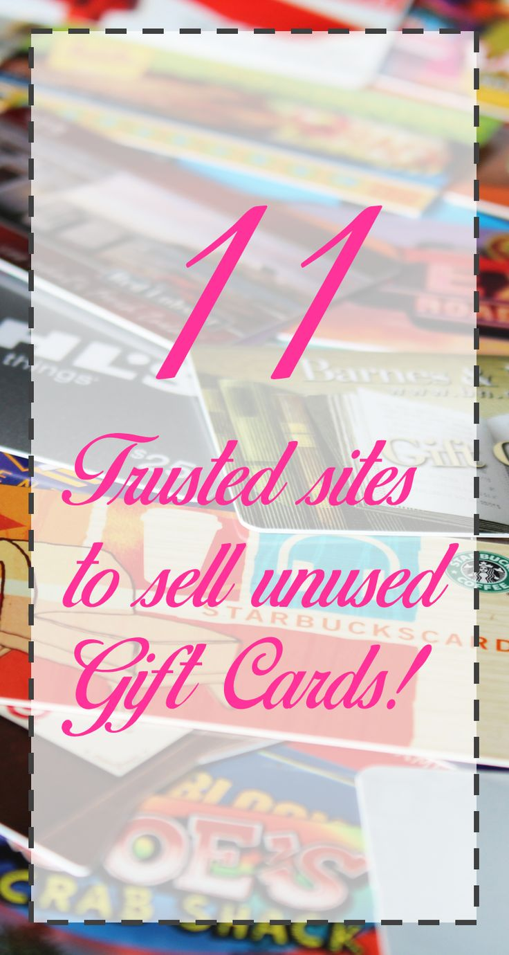 Sell your unused gift cards online for cash almost instantly!