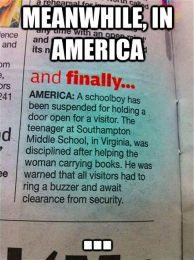 Jesus Christ, I wanna move out if this damned country sometimes....