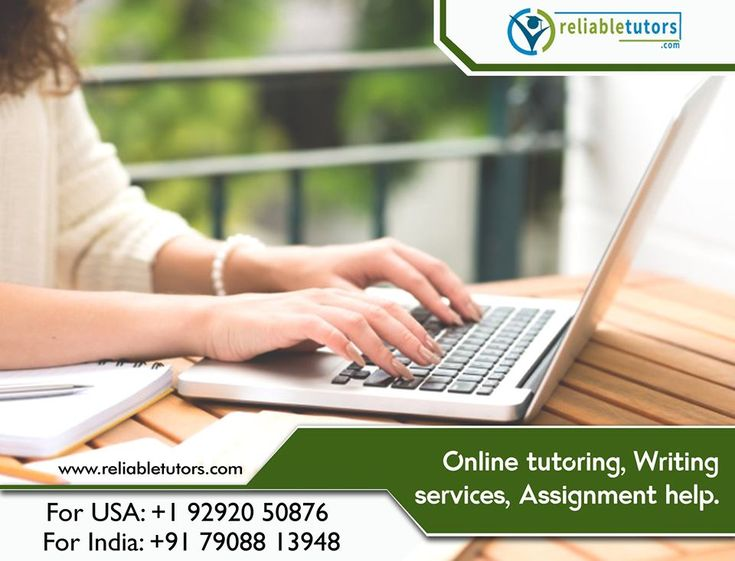 Online writing tutoring services