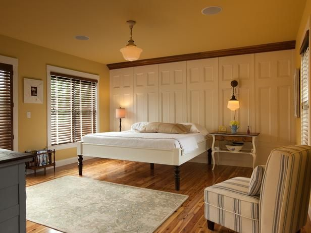 The Best of Blog Cabin Bedrooms:  From DIYNetwork.com from DIYnetwork.com
