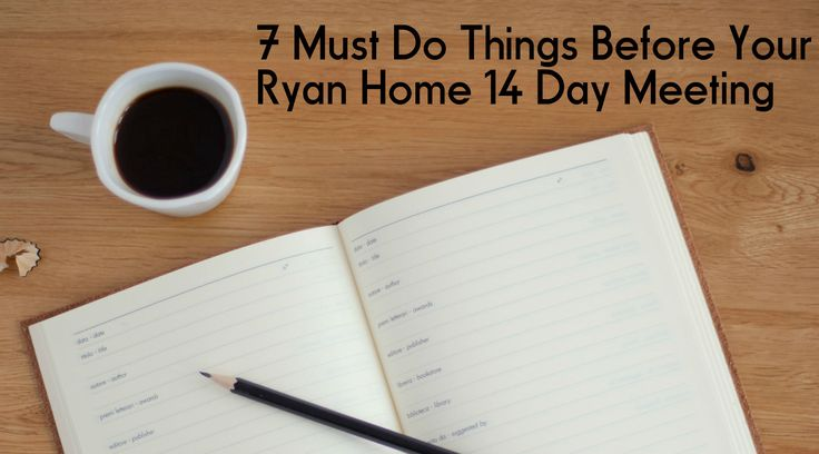 A list of 7 must do action items before you sign your finalized options with Ryan Homes! Don't wake up the next day to find you left something out!