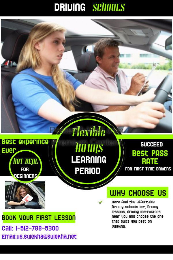 Best driving lessons for adults and students, find here affordable driving schools list choose your best one form the list.