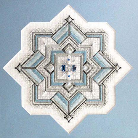 Winter , Gay Ann Rogers needlepoint design