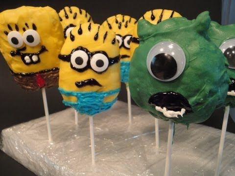 Charactor Rice Crispy Pops (Monsters Inc)