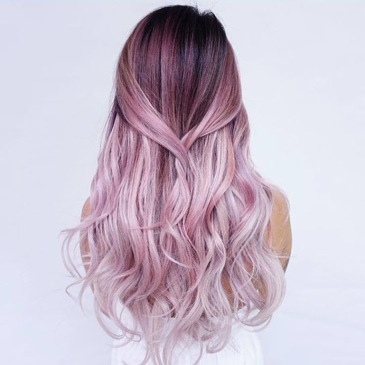 "471 Gostos, 11 Comentários - Balayage + Business Training (@mastersofbalayage) no Instagram: ""Cotton Candy D R E A M S By @evalam_"""