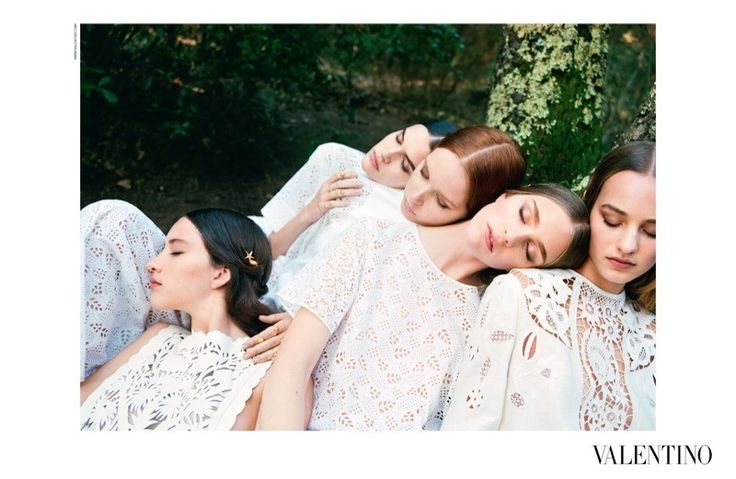 Valentino Spring 2015 Ads - Helena Bordon