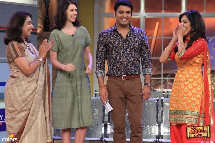 kalki koechlin in comedy nights with kapil - Google Search