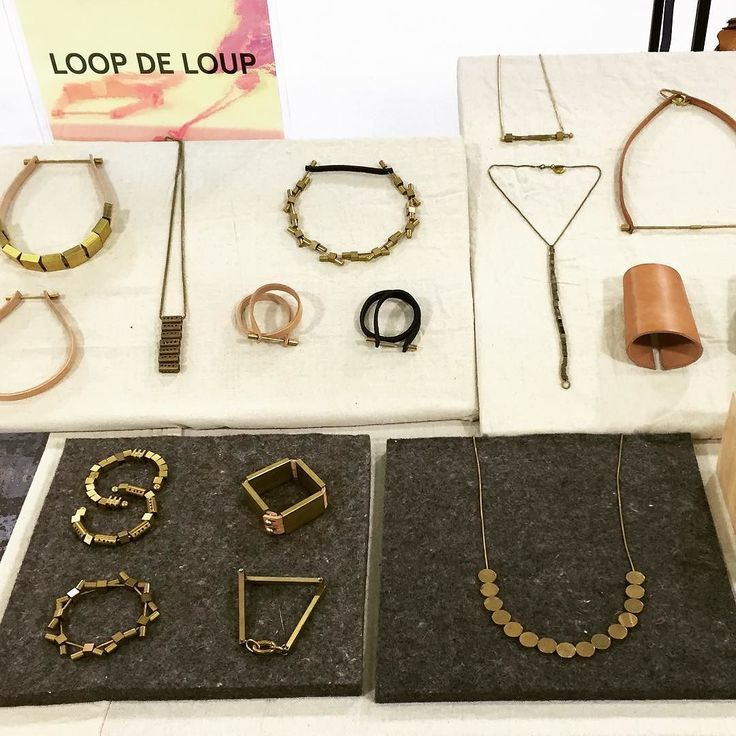 We're at @capsuleshow  Come and see what's new!  #metalware #leathergoods #leatherjewelry