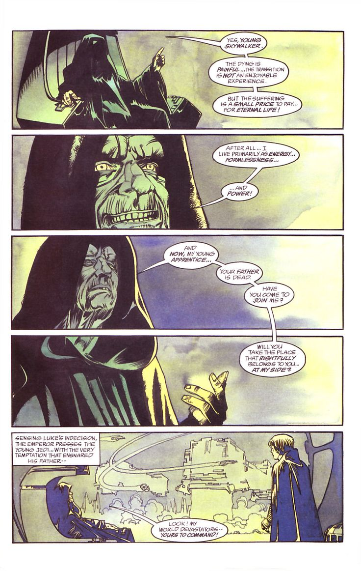 Star Wars: Dark Empire     Issue #2     - Read     Star Wars: Dark Empire     Issue #2     comic online in high quality