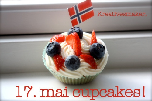 17. mai cupcakes (kreativesmaker)