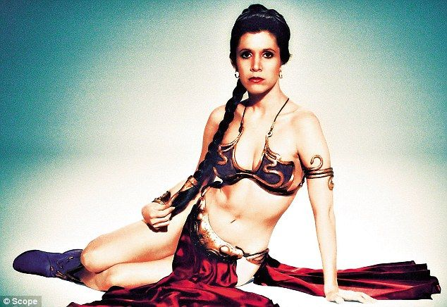 Star Wars actress Carrie Fisher has condemned Britain's biggest cinema chains for banning ...