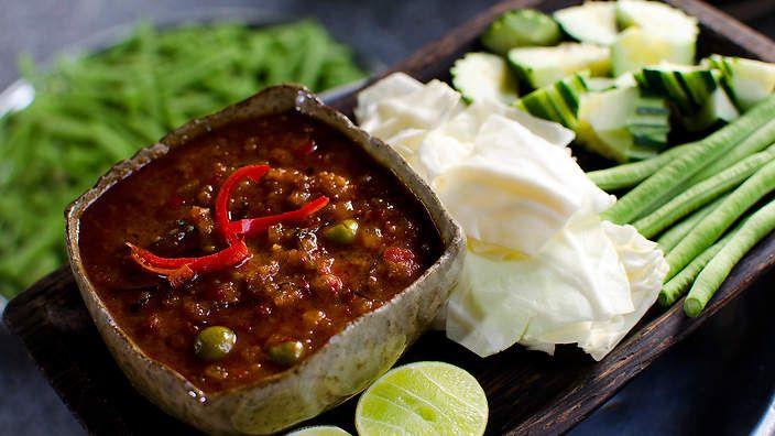 Luke Nguyen's prahok with pork belly recipe : SBS Food. Watch the video recipe.