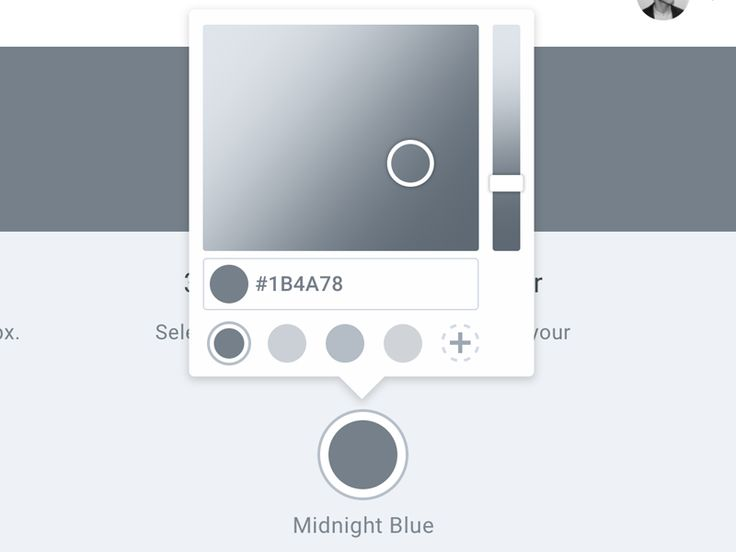 Color Picker Wireframe
