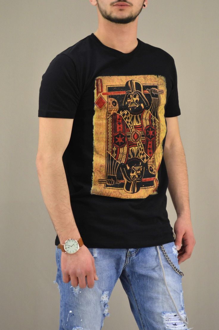 Aνδρικό t-shirt Star Wars Playing card | Άνδρας -