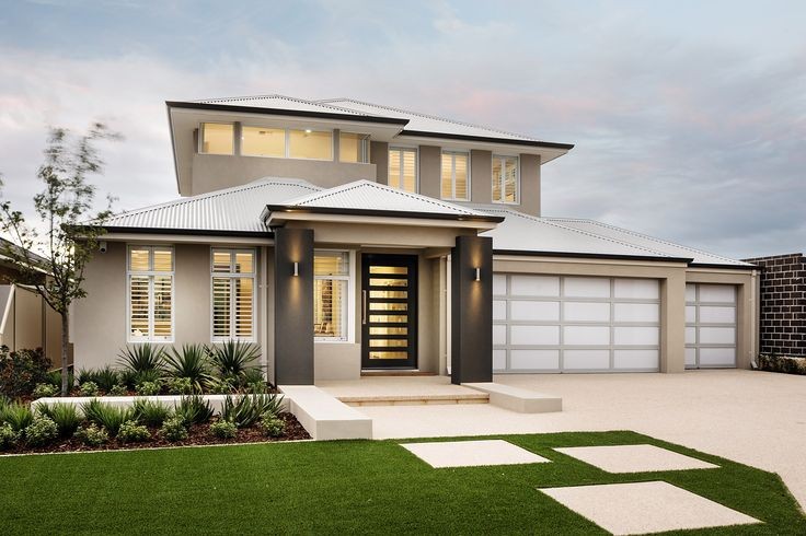 The Appella © Ben Trager Homes | Perth Display Home | Modern Facade Elevation