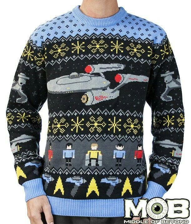 Trek the halls ... #StarTrek #Christmas #uglysweater
