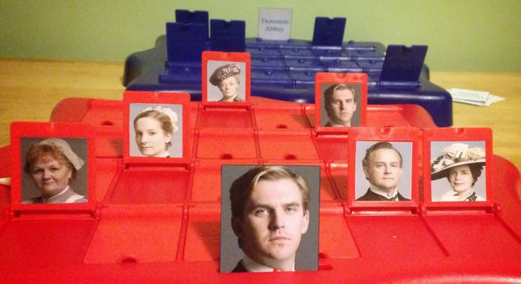 how to make a guess who game board