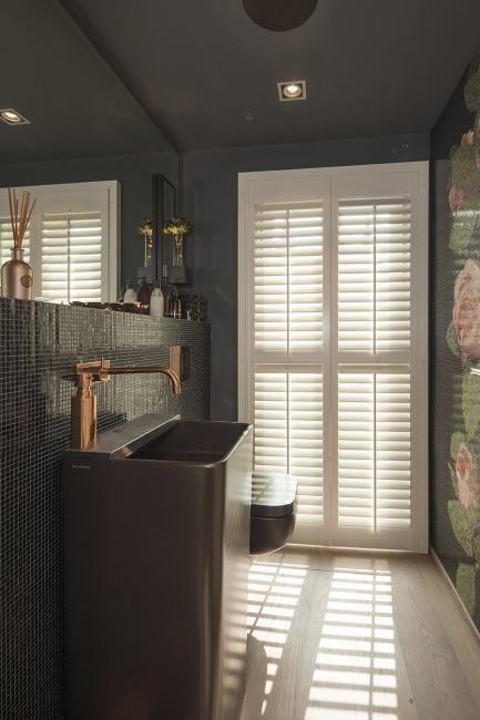 13 best Shutters - Badkamer images on Pinterest | Sunroom blinds ...