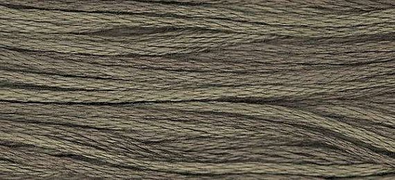 1154 Graphite  Weeks Dye Works 6 Strand Floss by FiddlestixDesign, $2.30