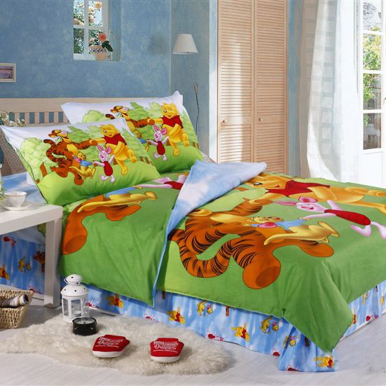 Winnie the Pooh Bedroom | happy winnie the pooh bedding twin model winnie pooh bedding 05 ...